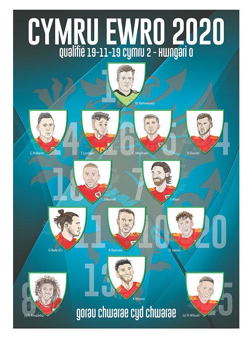 Euro 2020 A3 Poster