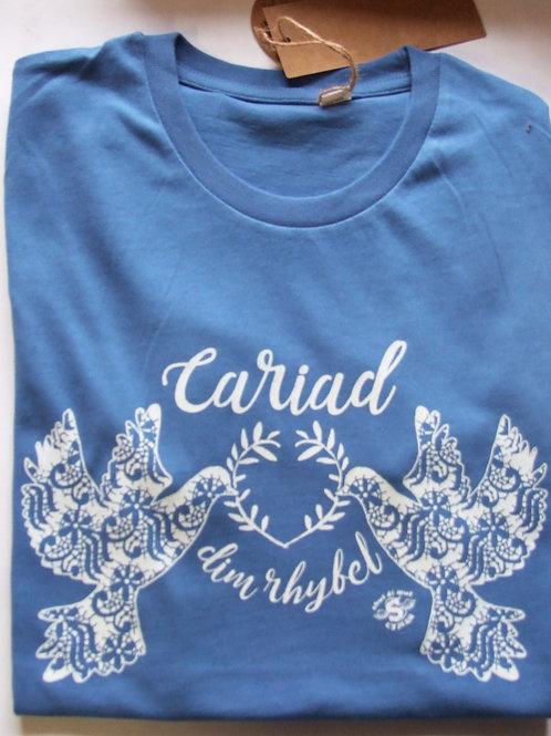 Crys-T Cariad Dim Rhyfel T