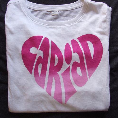 Love long sleeve Cariad T-shirt