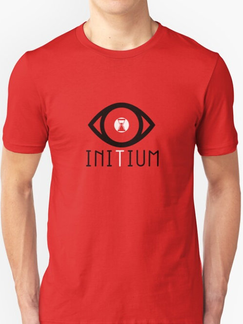 Initium Limited Edition RED Slim Fit T-Shirt