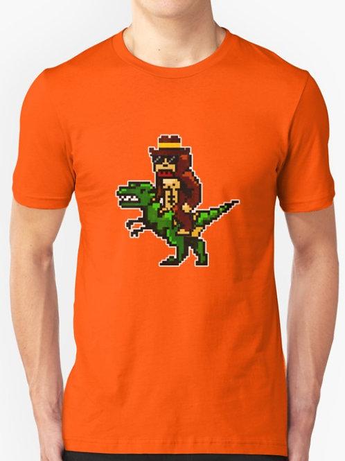 Bigfoot Riding Dino
