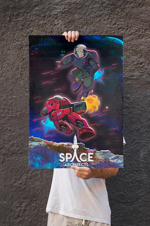 Space Architects - Galactic Titans Poster
