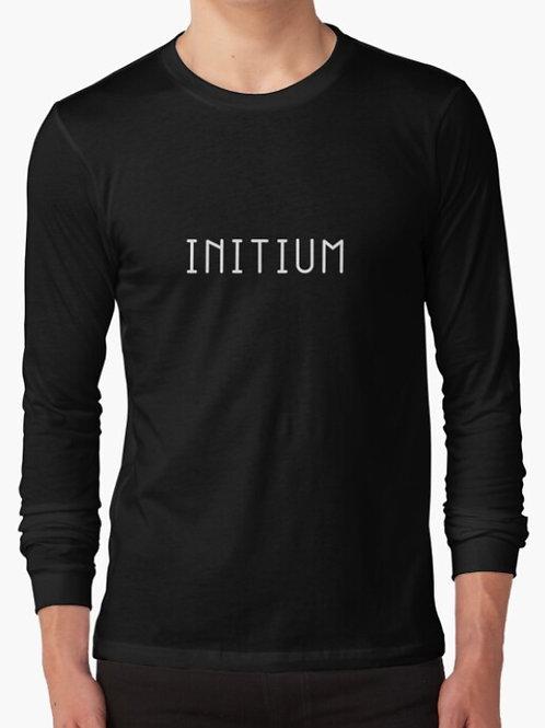 Initium Text Long Sleeve T-Shirt