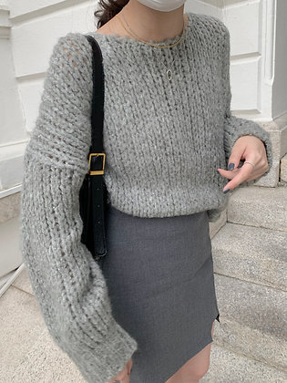 loose thick knit