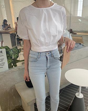 pretty cropped blouse