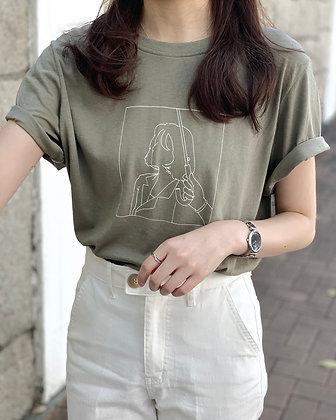 woman graphic tee