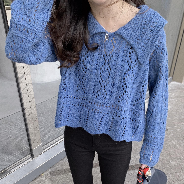 Thumbnail: polo pretty knit