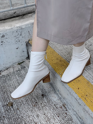 soft faux leather boots