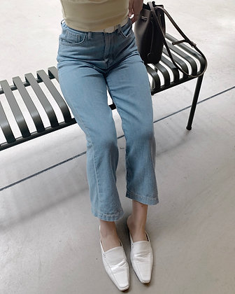 high waisted soft wide leg jeans