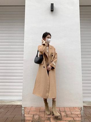 /PREMIUM/ handmade coat - camel