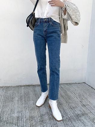 DM1015 slim straight cut jeans