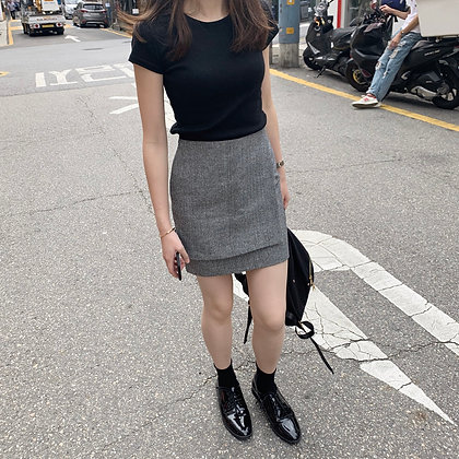 two-ply skirt