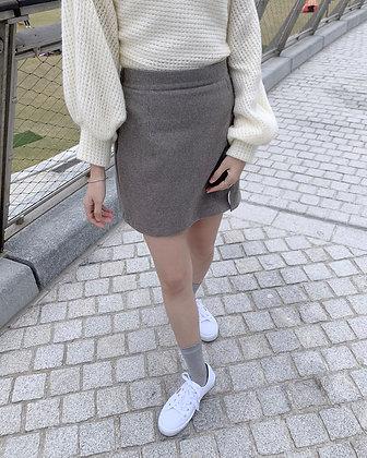 daily slit mini skirt