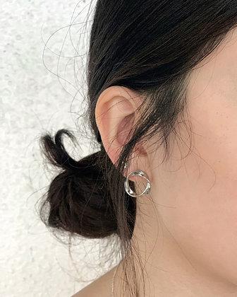 minimal earring set