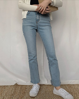 WC2121 high waisted flare jeans