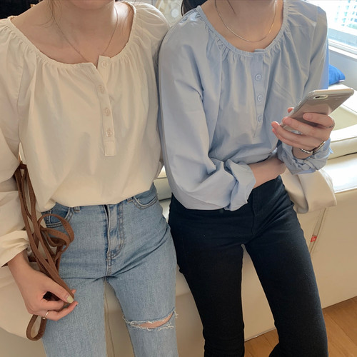 daily simple blouse