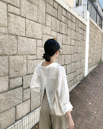 cropped shirt 3.0 with back slit