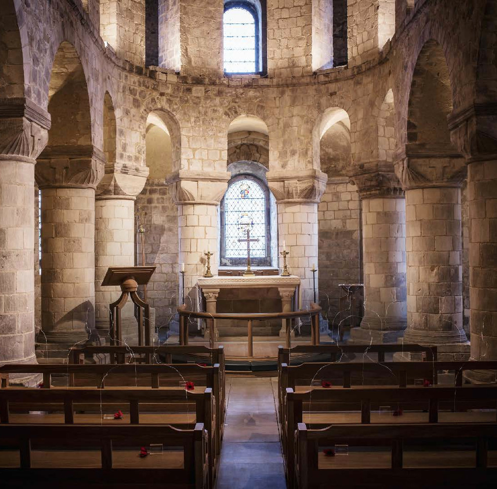 St John's Chapel, The White Tower, Tower of London