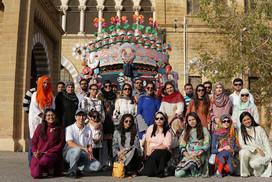 Tour of Karachi for the Deaf with Sair Sapaata