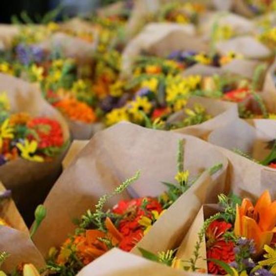 Fresh Cut Flowers @ Ramona Ranch Winery