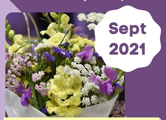 Bouquet Subscription - Sept 2021
