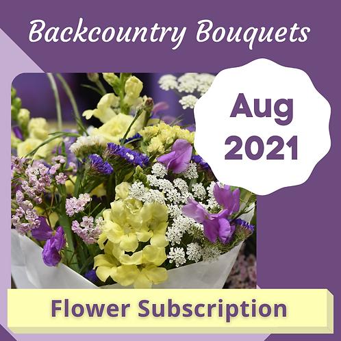 Bouquet Subscription - Aug 2021