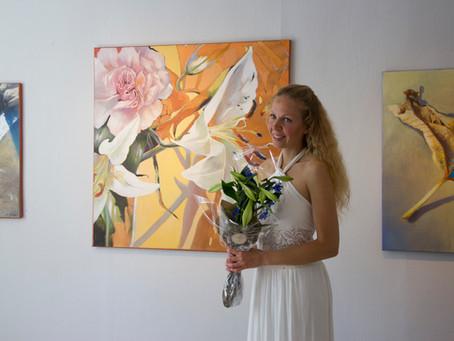 Vernissage – Solo Exhibition in Hamar Kunstforening 2018