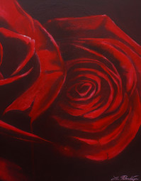 Red Roses – Part 2 (diptych)