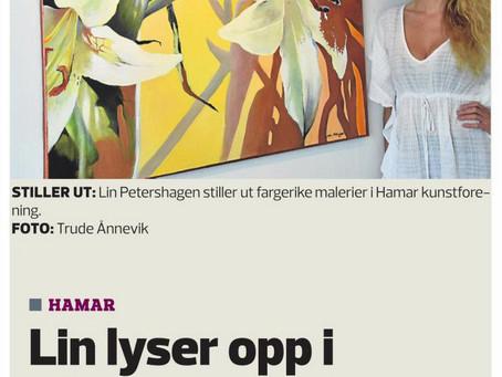 Article in Hamar Arbeiderblad