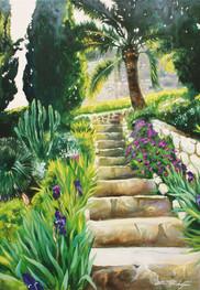 Escaliers à Villefranche