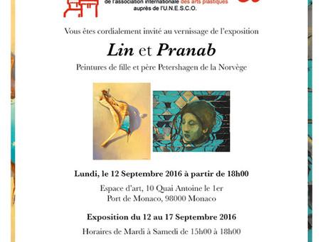 Lin et Pranab - AIAP UNESCO exhibition