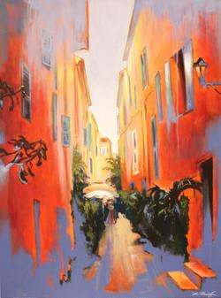 In Town of Saint Tropez