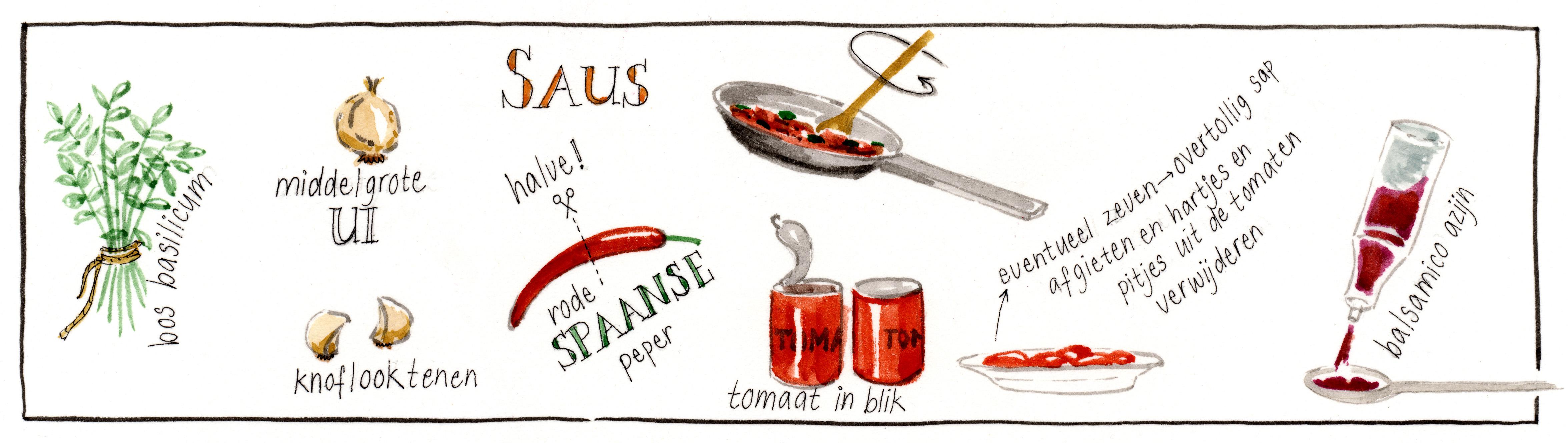 recept pastasaus