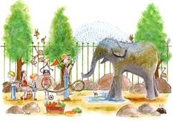 Bobo dierentuin-verhaal