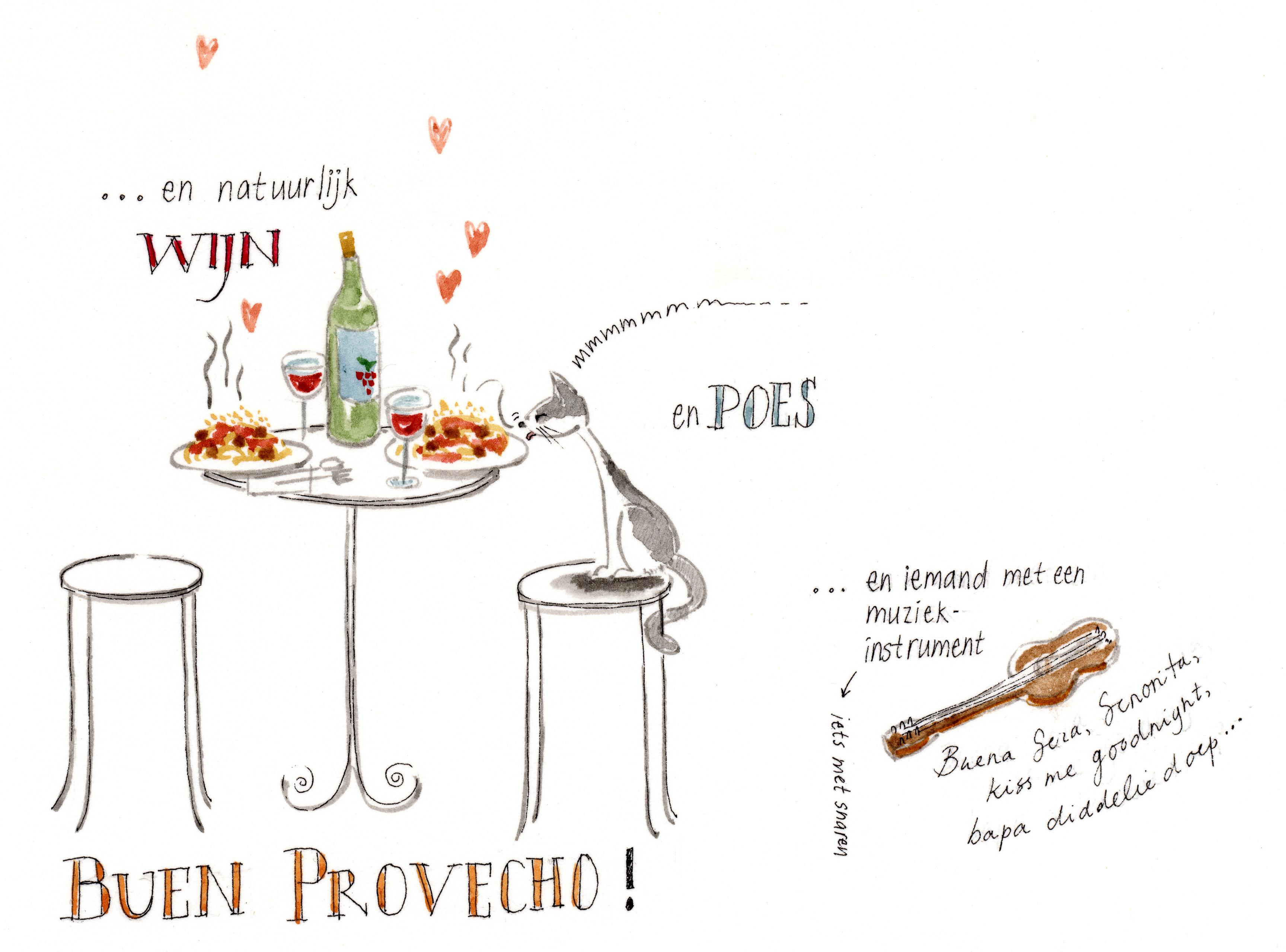 recept wijn erbij en klaar!