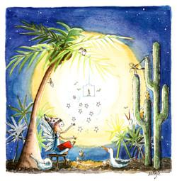 nadia kerstverhaal onder de palmboom