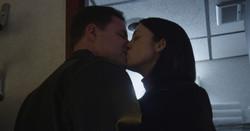 The Avenue - Eddie kissing Sandy