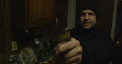 The Avenue - Eddie points gun at Sandy's Dad