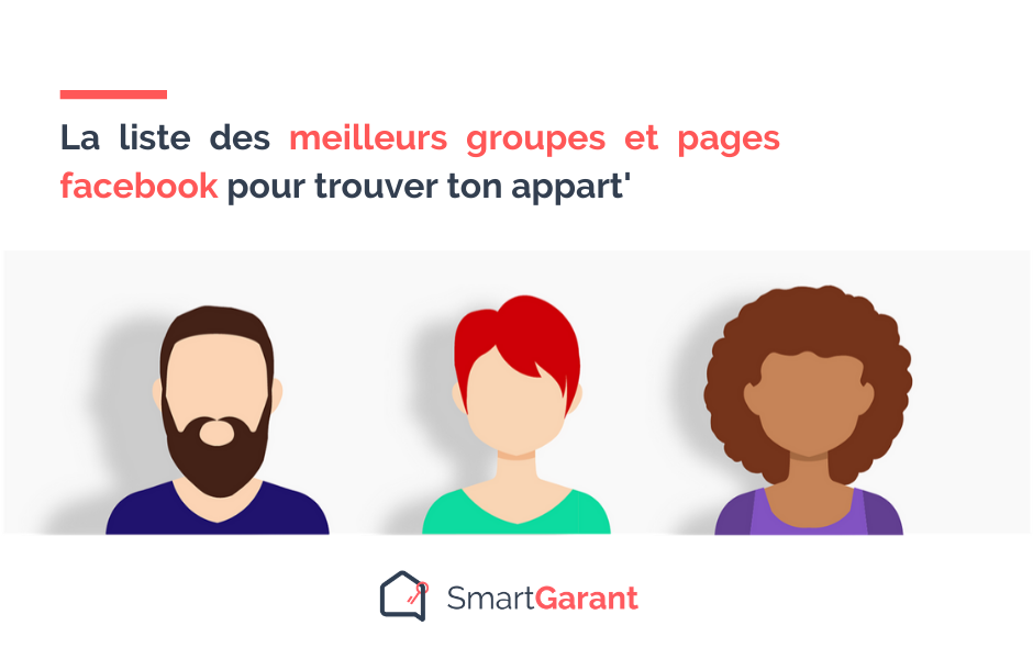 Groupes facebook location appartement