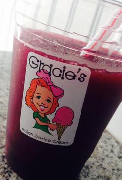Organic Grape Slushie?!?!