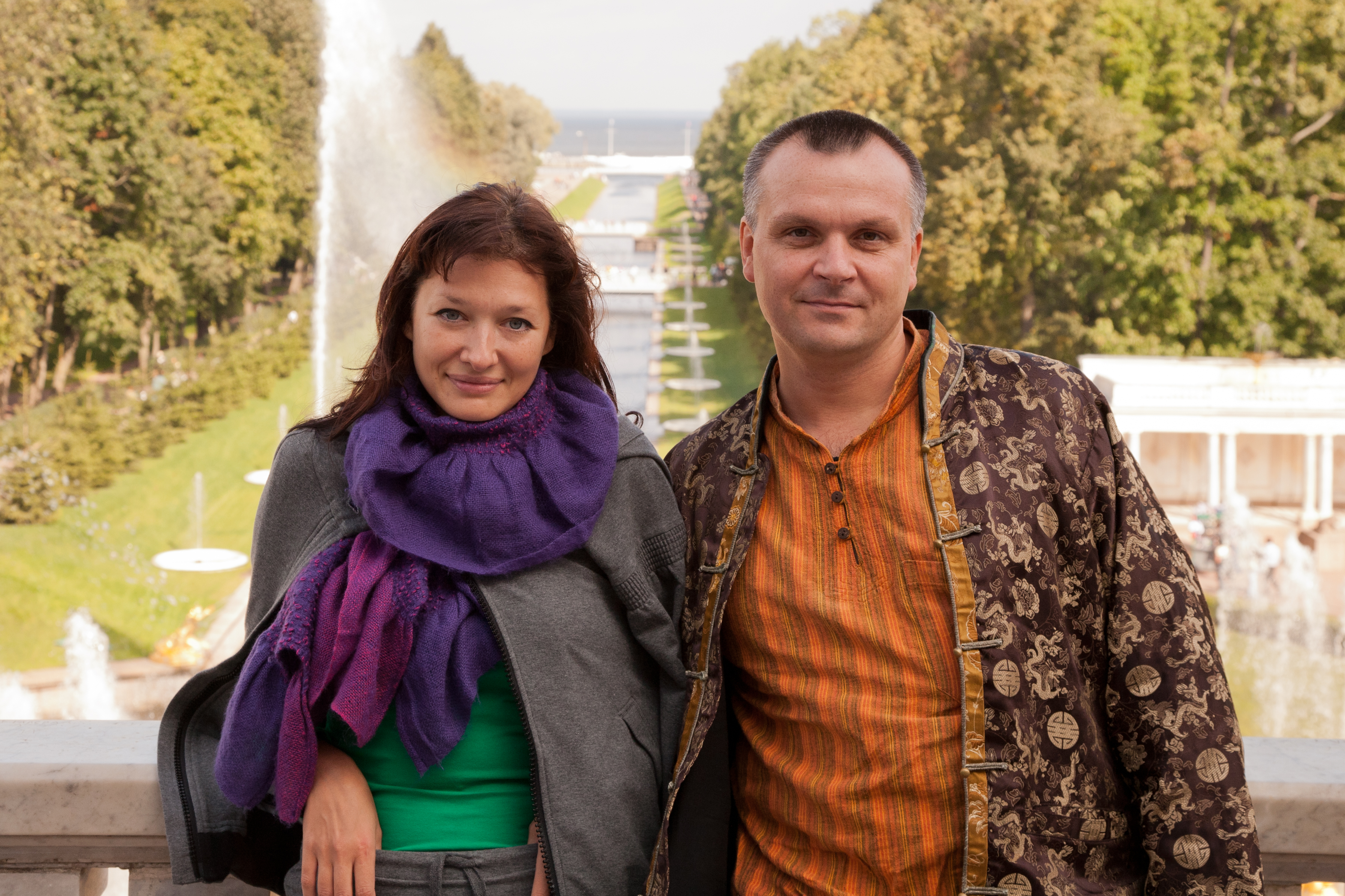Юля и Андрей Лаппа