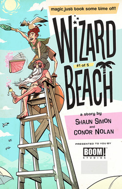 WIZARD BEACH cover #1