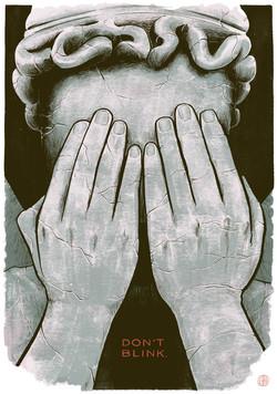 """Dr. Who - """"Blink"""" episode poster"""