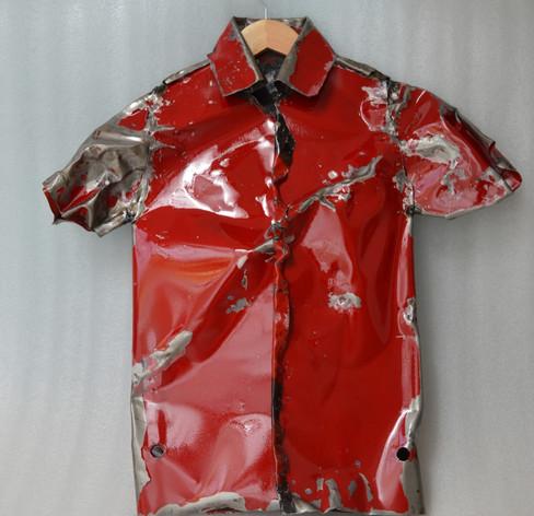 Carmin Red Shirt, 2018