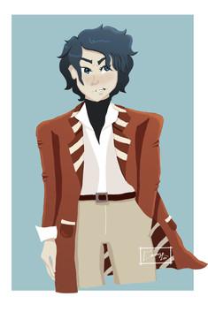 Itsuki Ishii Character Art