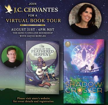 JC Cervantes Book Tour