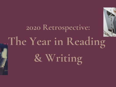 Retrospective on 2020, in Writing and Reading Goals