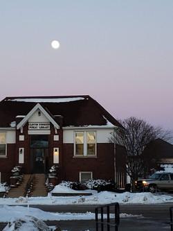 Clinton Township Public Library. Waterman Illinois
