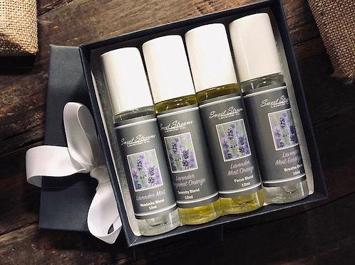 Lavender Rollers Gift Set