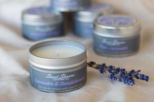 Lavender Sandalwood Candle